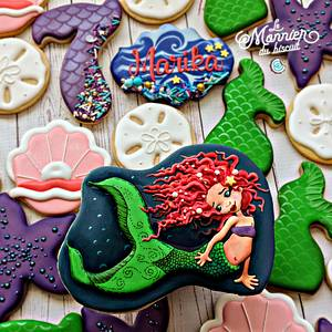Celebrate in mermaid style! - Cake by Le Monnier du Biscuit