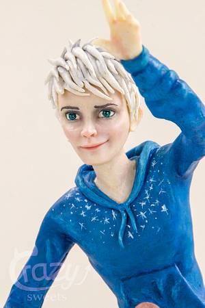 Jack Frost - Inspired by William Joyce Collaboration - Cake by Crazy Sweets