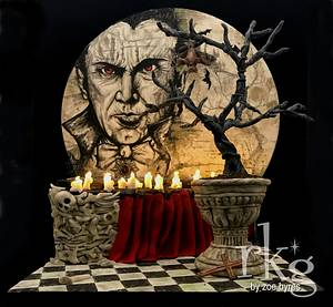 Dracula Diorama - Cake by Zoe Byres