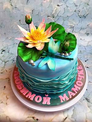 Water lily cake - Cake by Julia