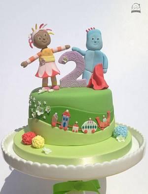 In The Night Garden cake - Cake by Natasha Thomas