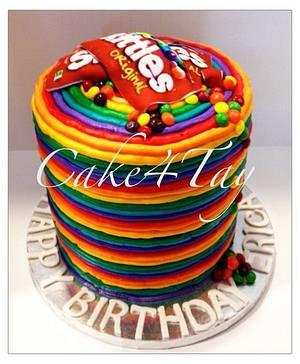 Taste The Rainbow Cake!  - Cake by Angel Chang