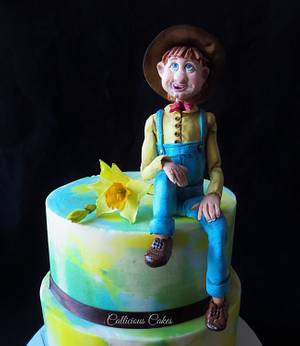 Hilly Billy Rustic Farmer  - Cake by Calli Creations