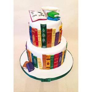 Book Cake - Cake by Beth Evans
