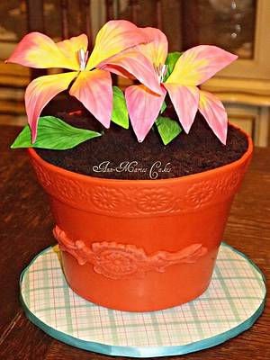 Lily for Mom's Birthday - Cake by Ann-Marie Youngblood