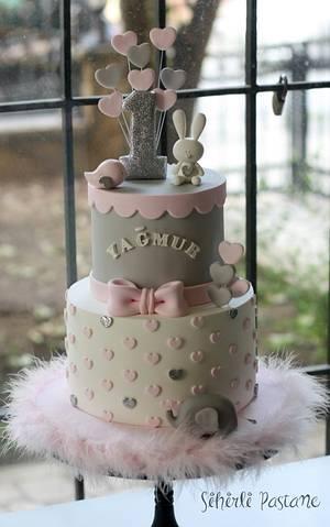 Baby Animals First Birthday Cake - Cake by Sihirli Pastane