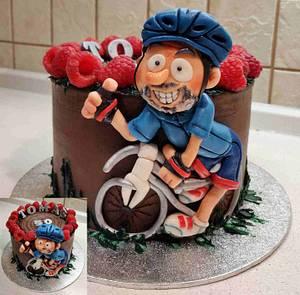 Biker - Cake by Majka Maruška
