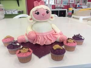 doc mcstuffins lambie - Cake by ladygourmet