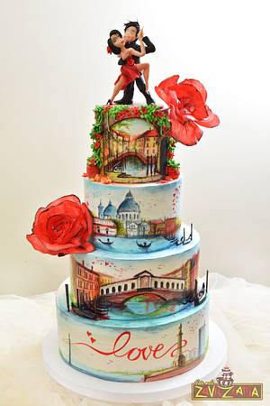 Venice+Belgrade=LOVE - Cake by Nasa Mala Zavrzlama
