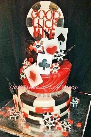 VIP Poker Cake - Cake by HottCakez of Las Vegas