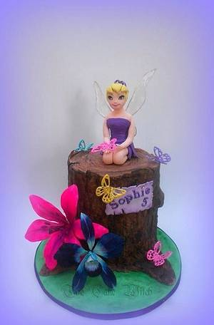Tinkerbell - Cake by Nessie - The Cake Witch