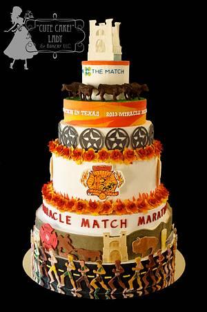 "Miracle Match Marathon - Cake by ""Cute Cake!"" Lady (Carol Seng)"