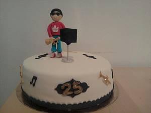 pastel músico - Cake by maria jose garcia herrera