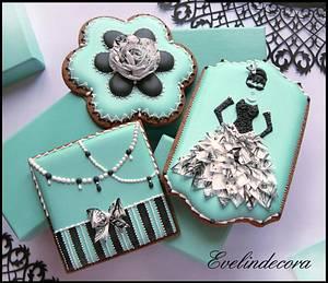 Tiffany cookies 💙 - Cake by Evelindecora