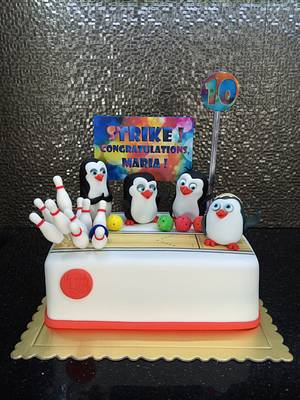 WOW! The first Strike! - Cake by Lily Vanilly
