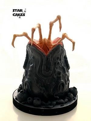 Alien Egg Cake - Cake by Star Cakes