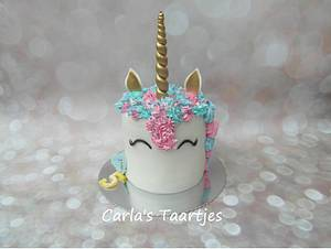 Unicorn  - Cake by Carla