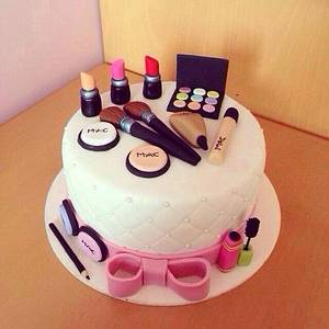 Cosmetics Birthday Cake | Crust N Cakes - Cake by Kapil Tomar