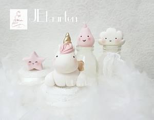 Little lovely company caketoppers - Cake by Judith-JEtaarten