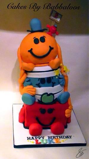 Mr Men Cake - Cake by Babbaloos Cakes
