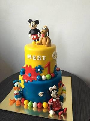 Disney Themed Cake - Cake by PastaLaVistaCakes