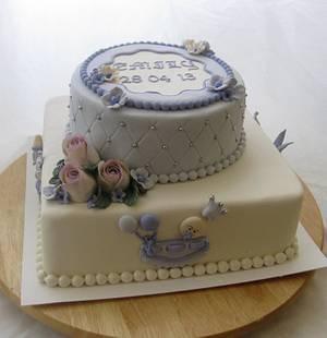 Purple selabration - Cake by Trine Skaar