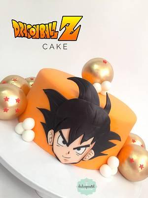 Torta Goku en Medellín - Goku cake - Cake by Dulcepastel.com