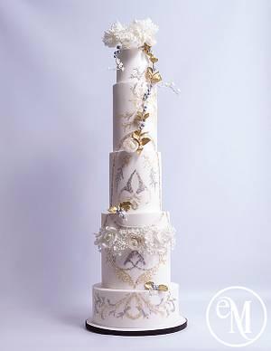 Ethereal Elegance - Zuhair Murad fashion inspired cake - Cake by Enchanting Merchant Company