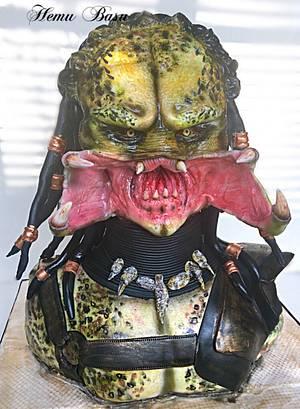 Alien Scar! - Cake by Hemu basu