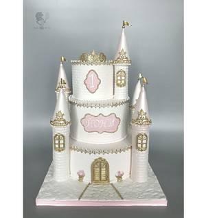 Princess Castle Cake - Cake by Antonia Lazarova