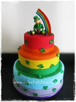 St. Patrick's Day Cake  - Cake by Agatha Rogowska ( Cakefield Avenue)