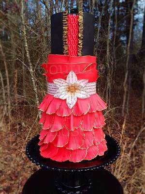 """""""Rogue"""" - Cake by couturecakesbyrose"""