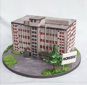 Shoe factory - Cake by Zuzana Bezakova