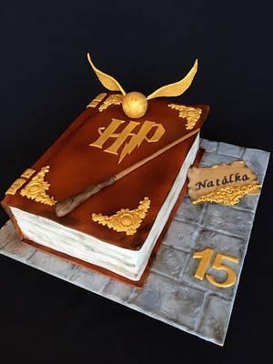 Harry Potter book cake - Cake by Layla A