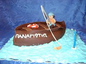 Fisherman cake  - Cake by Dora Th.
