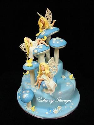 Midnight Fairies Class with Debbie Brown - Cake by Raewyn Read Cake Design
