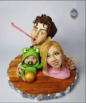 The Frog Prince - Cake by Evren Dagdeviren