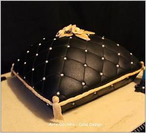 Almofada - Cake by Arte docinha - cake design