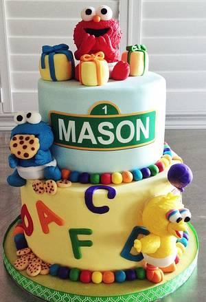 Sesame Street Babies Cake - Cake by Heidi