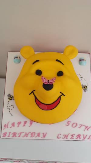 Winnie the pooh cake xx - Cake by My Darlin Cakes