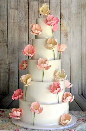 The Modern Bride - Cake by Sumaiya Omar - The Cake Duchess