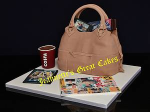 Handbag - Cake by JeannettesGreatCakes