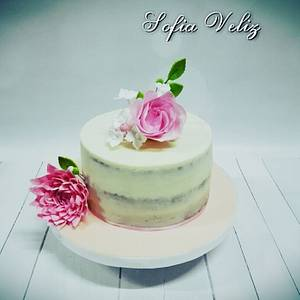 Dalia y Rosa🌹 - Cake by Sofia veliz