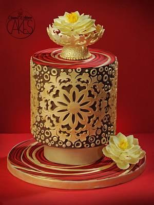 Vesak Festival tribute! - Cake by D'Adamo Cinzia