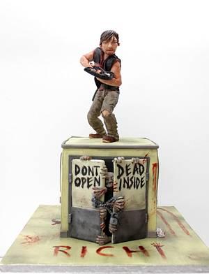 WALKING DEAD - Daryl  - Cake by Artym