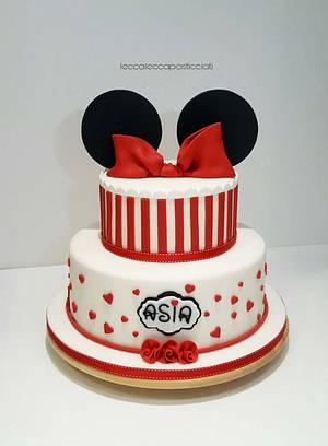Minnie cake - Cake by leccalecca