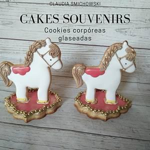 Cookies caballitos - Cake by Claudia Smichowski