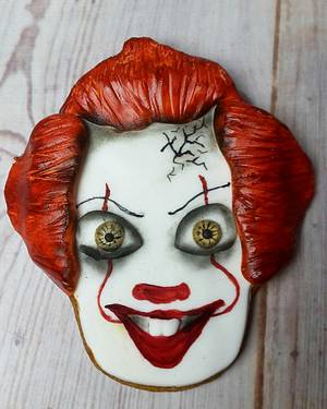 Pennywise the clown - Cake by JojosCupcakeMadness