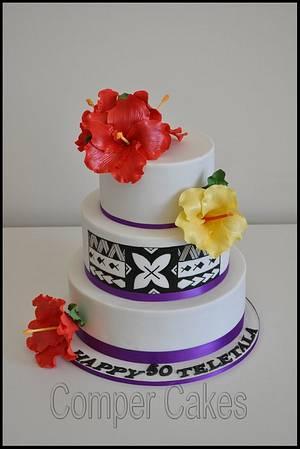 Samoan pater birthday cake - Cake by Comper Cakes