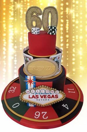 Las Vegas  - Cake by Sweet Delight Cakes